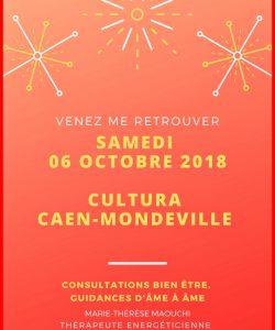 Cultura Mondeville Caen octobre 2018