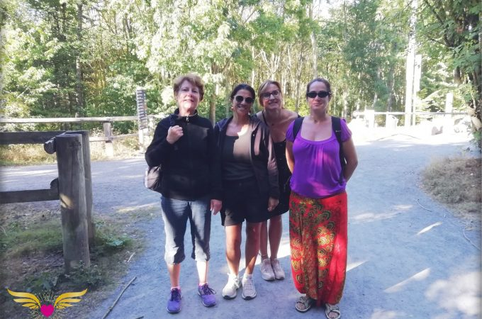 Sylvothérapie - groupe en forêt